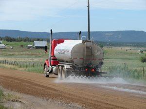 wind farm dust control