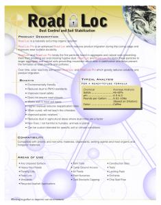 Road Loc Brochure